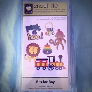 Cricut B is for Boy New & Sealed in Package